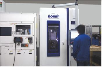 ↑德国DORST全自动数控压机