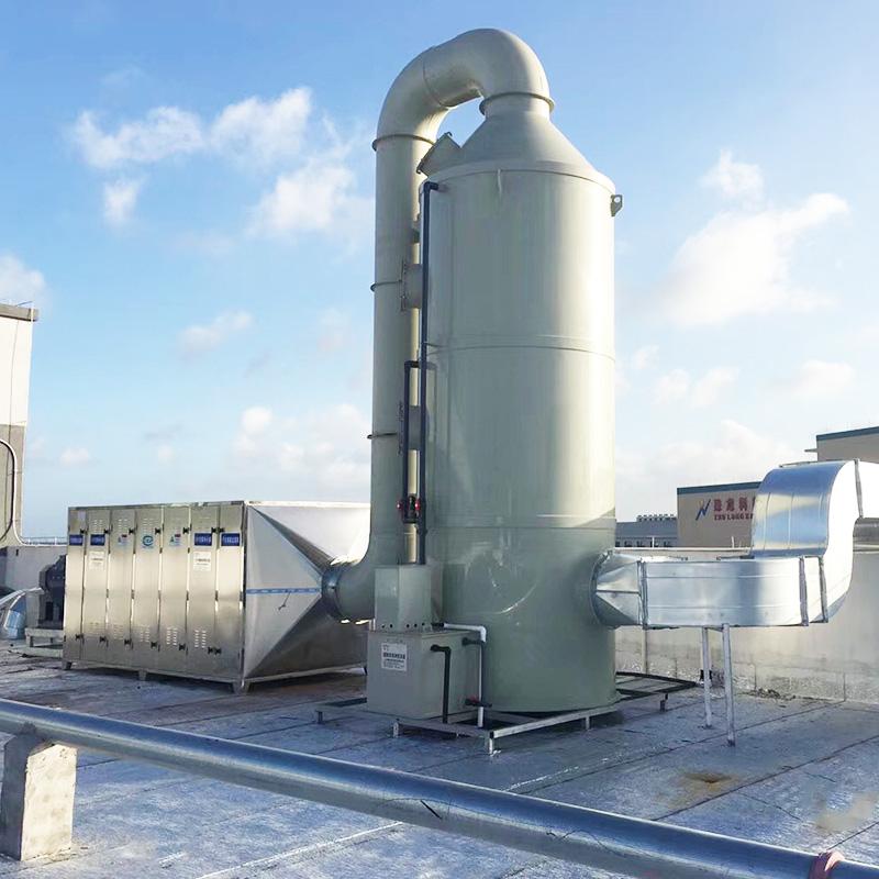 電子廠廢氣處理案例