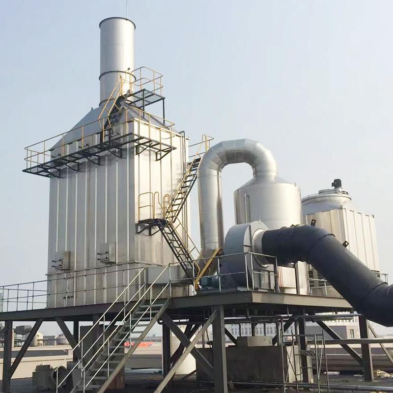 定型機廢氣處理案例