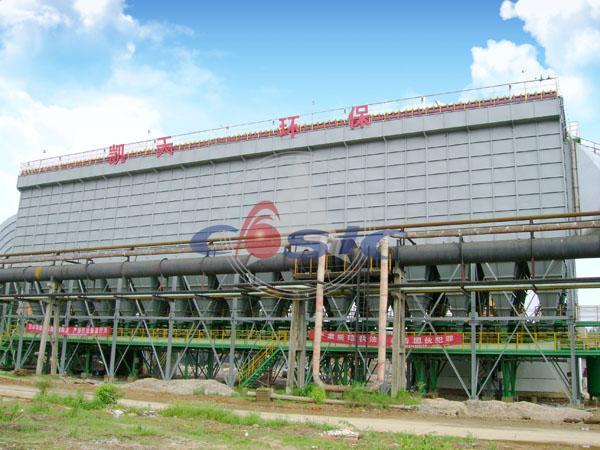 湖南華菱漣源鋼鐵有限公司—鋼鐵鑄造除塵