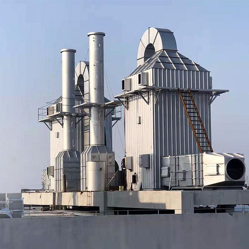 印染廠工業油煙治理案例