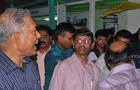 孟加拉國農業部部長蒞臨公司展位