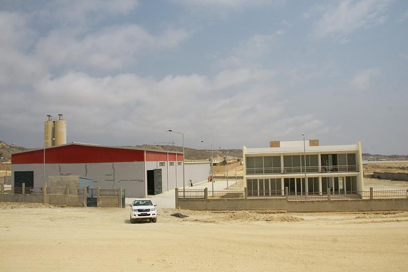 罗比托水泥砖厂(安哥拉)