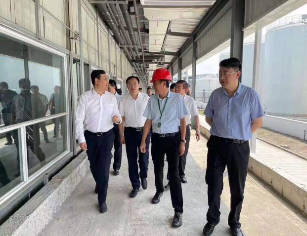 泰州市委副書記、市長朱立凡一行調研靖江項目