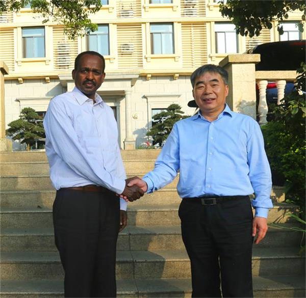 埃塞俄比亚驻华大使特肖梅?托加到访