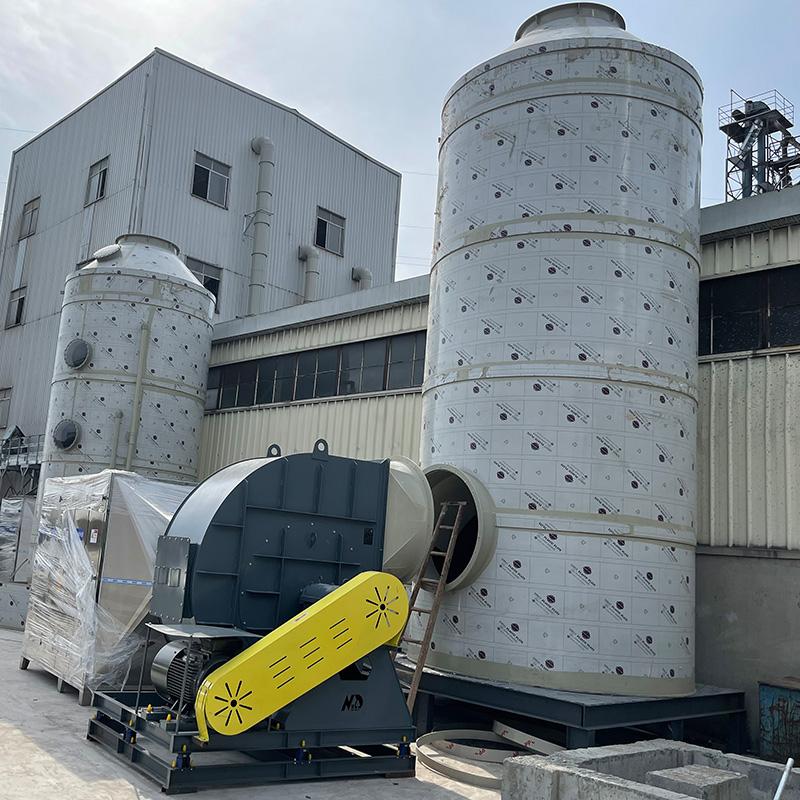 飼料廠廢氣治理案例