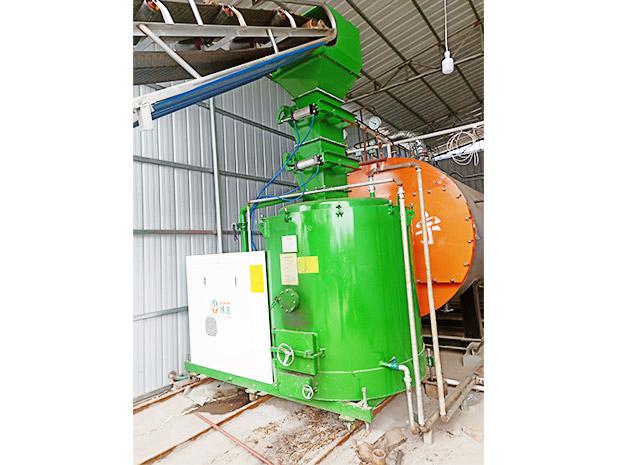 240萬大卡-木片燃燒機-配4噸燃氣鍋爐用于食品廠-山西