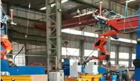 鄭州鐵工-盾構機焊接機器人系統