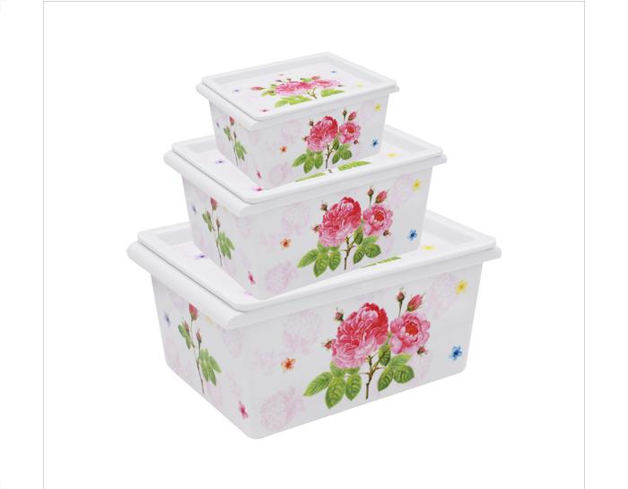 收纳盒--牡丹嫣红