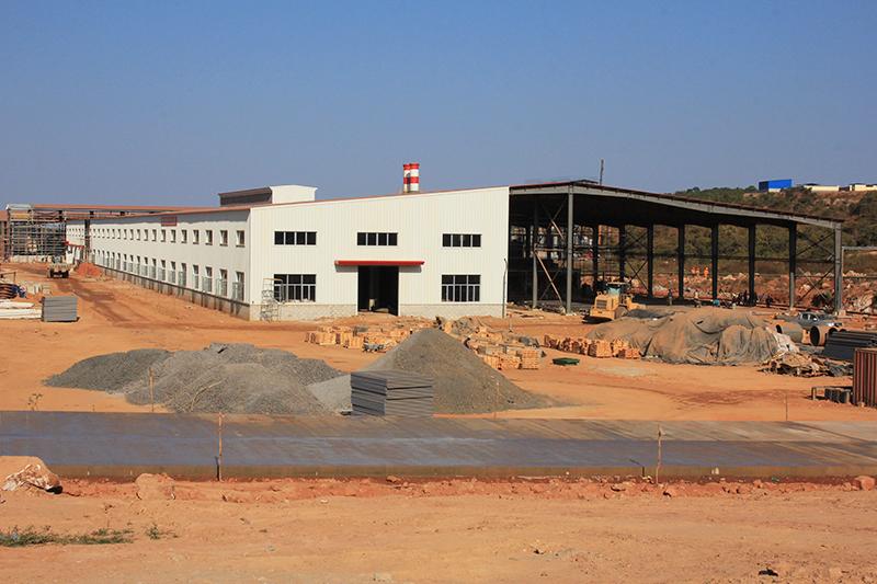 烧结砖厂房(赞比亚)