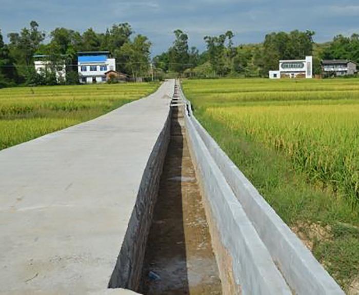 临湘市2015年度文白乡桂家湾畈农田水利建设项目第一标段