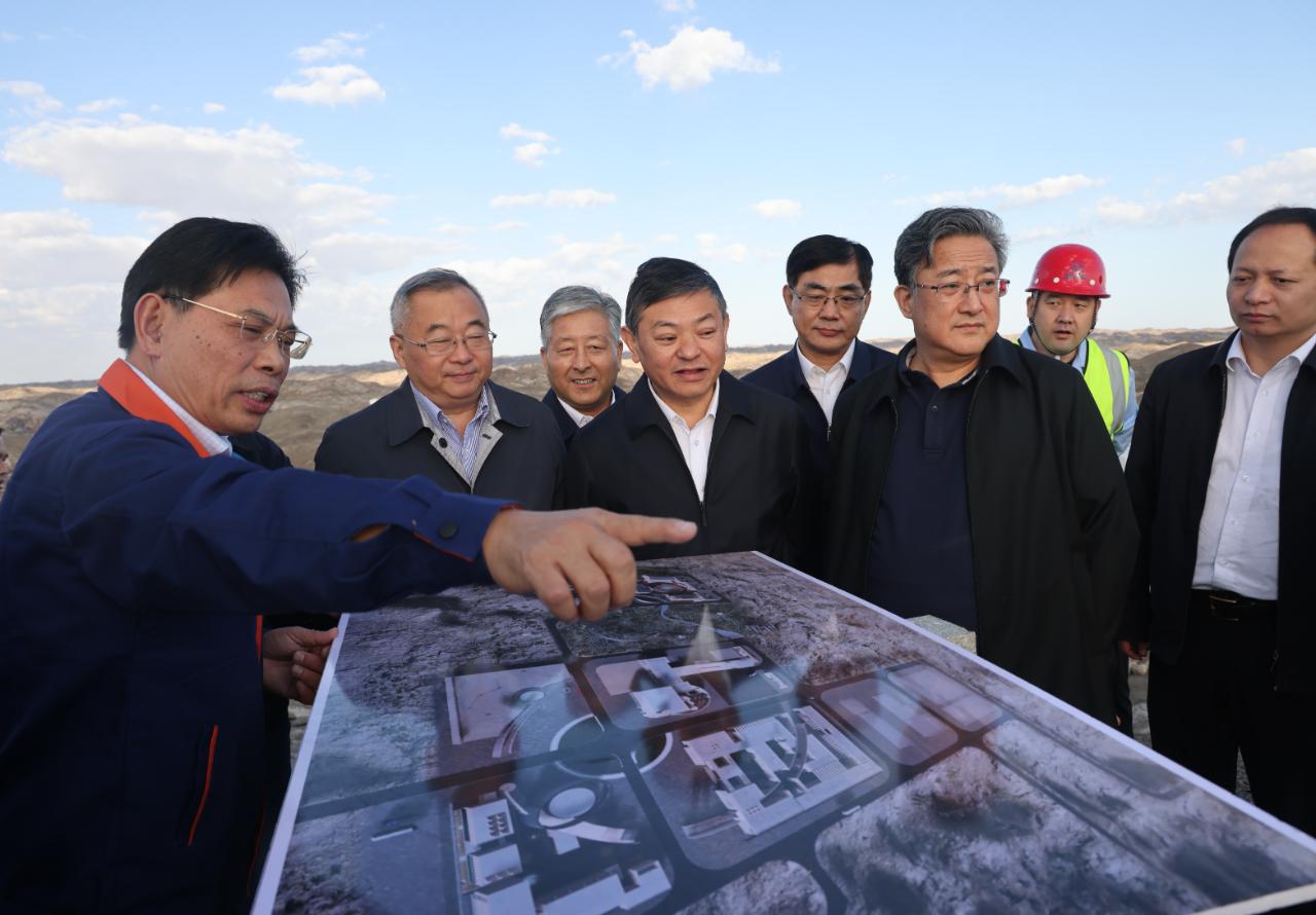 生態環境部部長黃潤秋赴甘肅調研