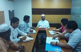 常州宏寰去孟加拉拜訪新客戶,維護老客戶