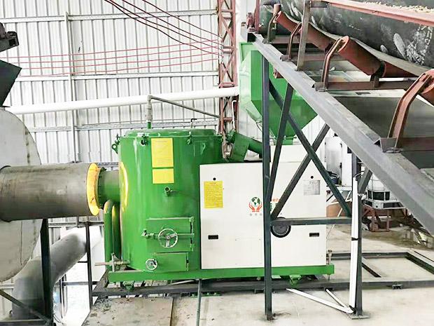 120萬大卡-顆粒燃燒機-配套烘干線用于石英砂烘干-河源