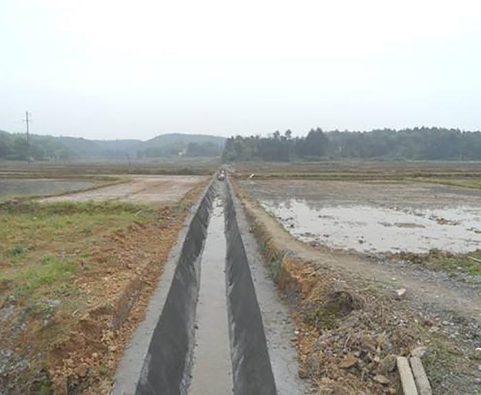 竹山县小型农田水利一般重点县2015年度项目施工3标段