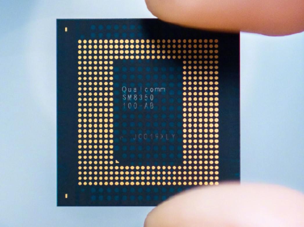 雷軍曬驍龍 888 處理器實物:代號 SM8350