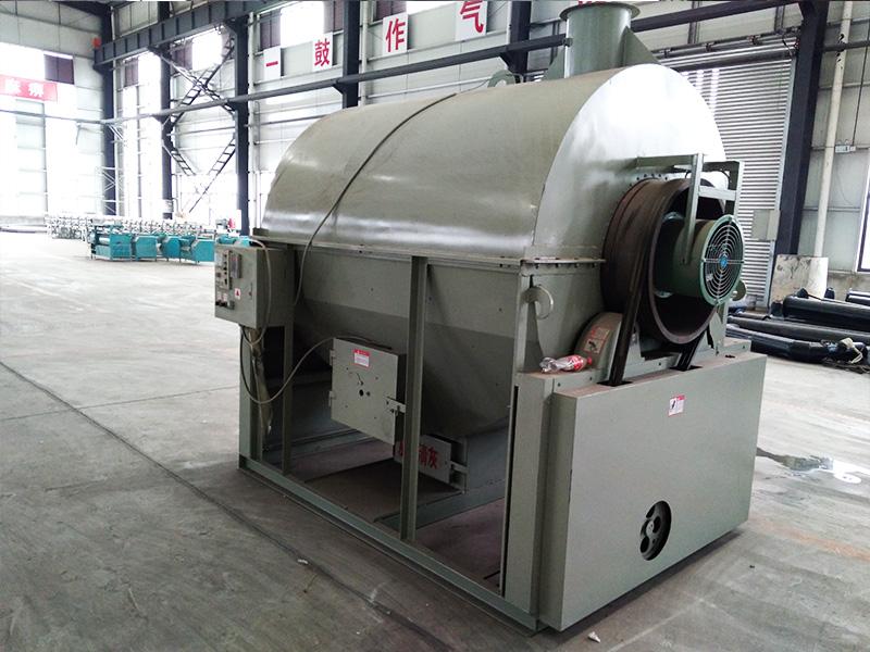 茶叶炒干机6CCT-130柴煤式