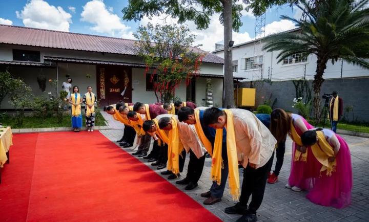 2020年赞比亚分公司庚子年恭拜黄帝大典