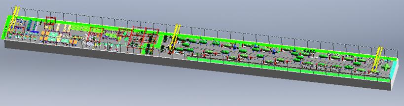 三一專汽-攪拌筒焊接產線