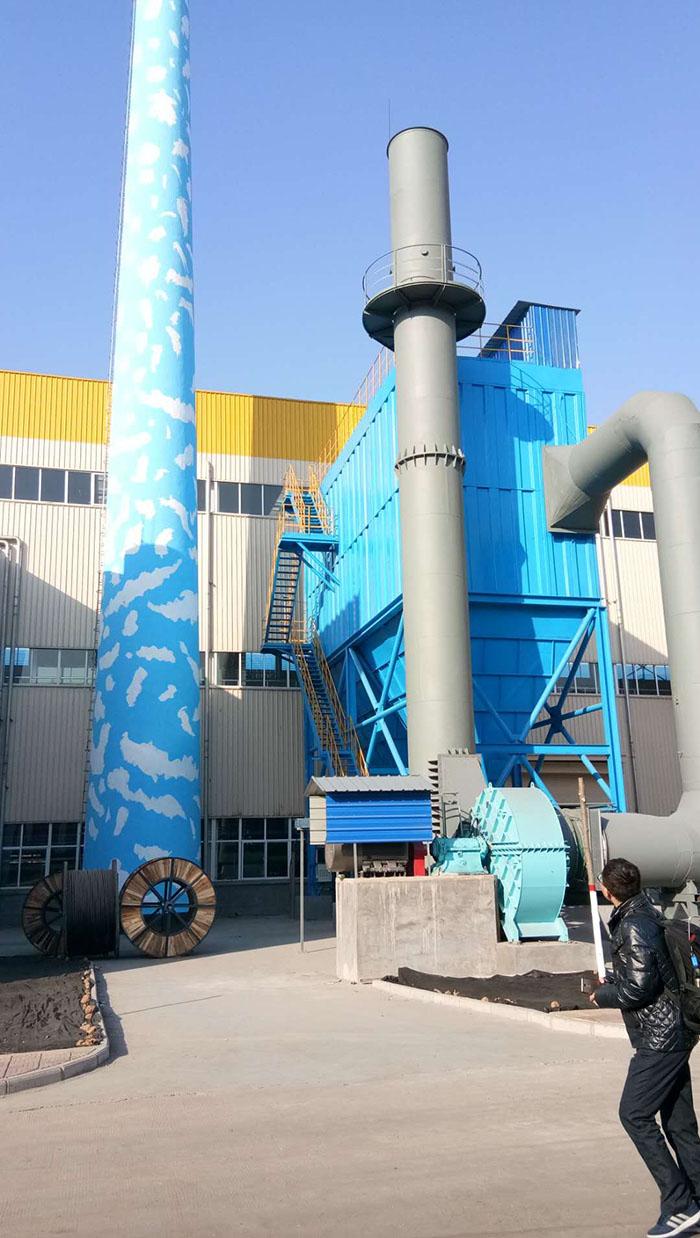 林州鳳寶管業有限公司—鑄造粉塵治理