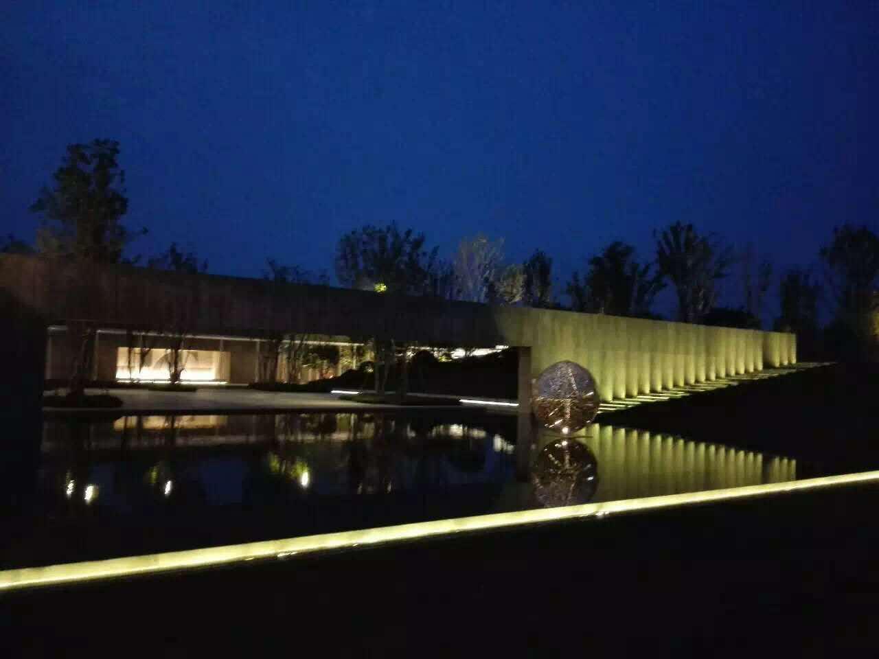 【光同亮—户外照明】河南郑州中牟普罗旺斯理想国展示中心