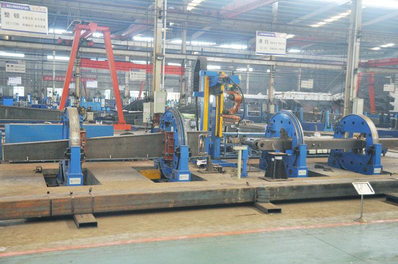 泵车支腿焊接机器人