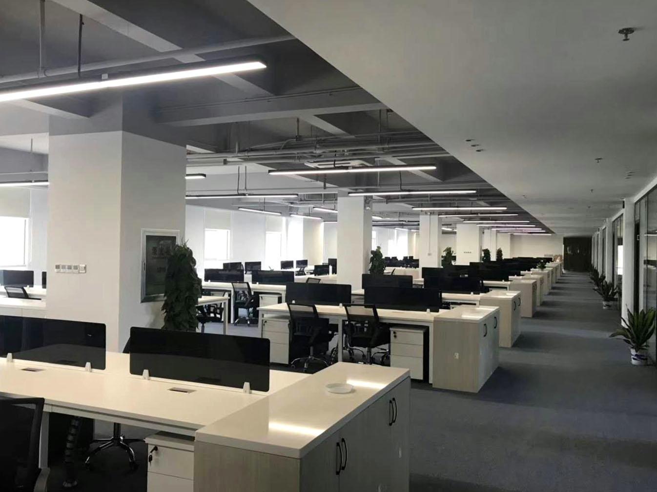 【光同亮-办公照明】武汉华润医药办公楼
